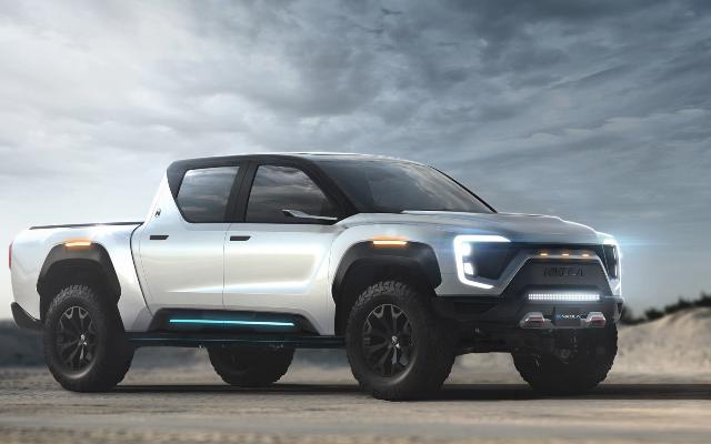 Nikola Motors تكشف عن نموذج بيك أب كهربائي قادر على قطع 600 ميل