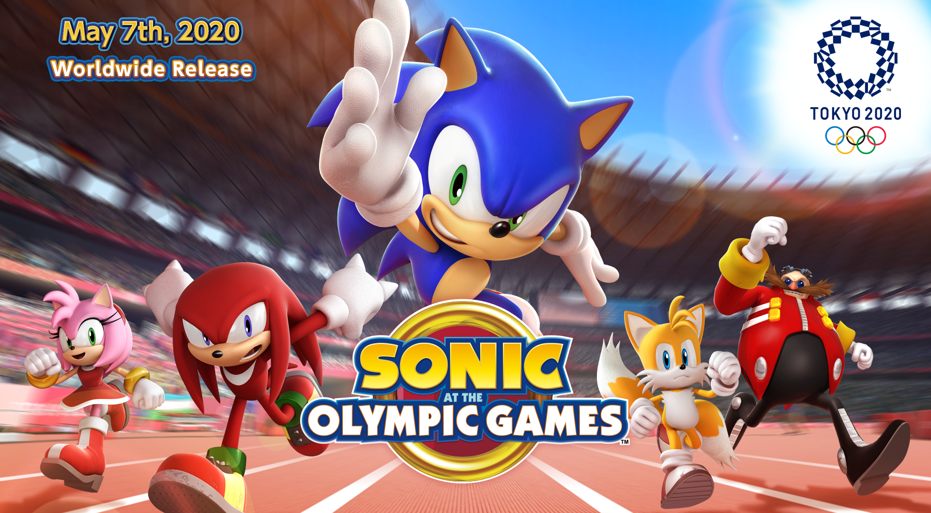 لعبة Sonic at the Olympic Games – Tokyo 2020 متاحة الآن للتسجيل المسبق