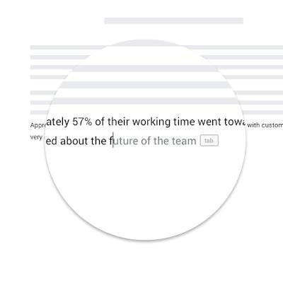 جوجل تطلق ميزة Smart Compose على مستندات جوجل لكافة المستخدمين