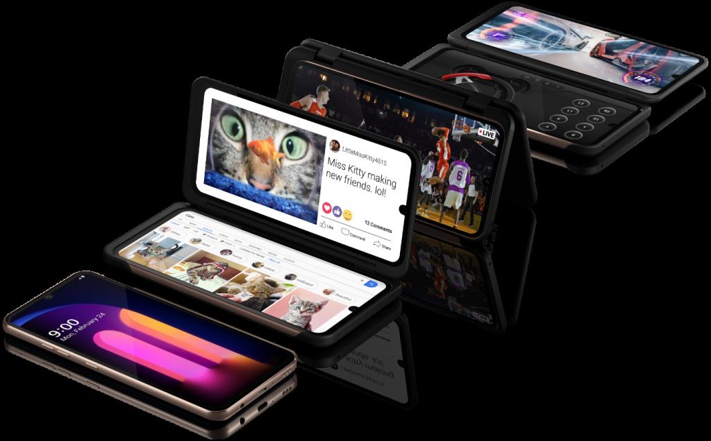 تعرف على أحدث هواتف إل جي بتقنية الجيل الخامس V60 ThinQ 5G