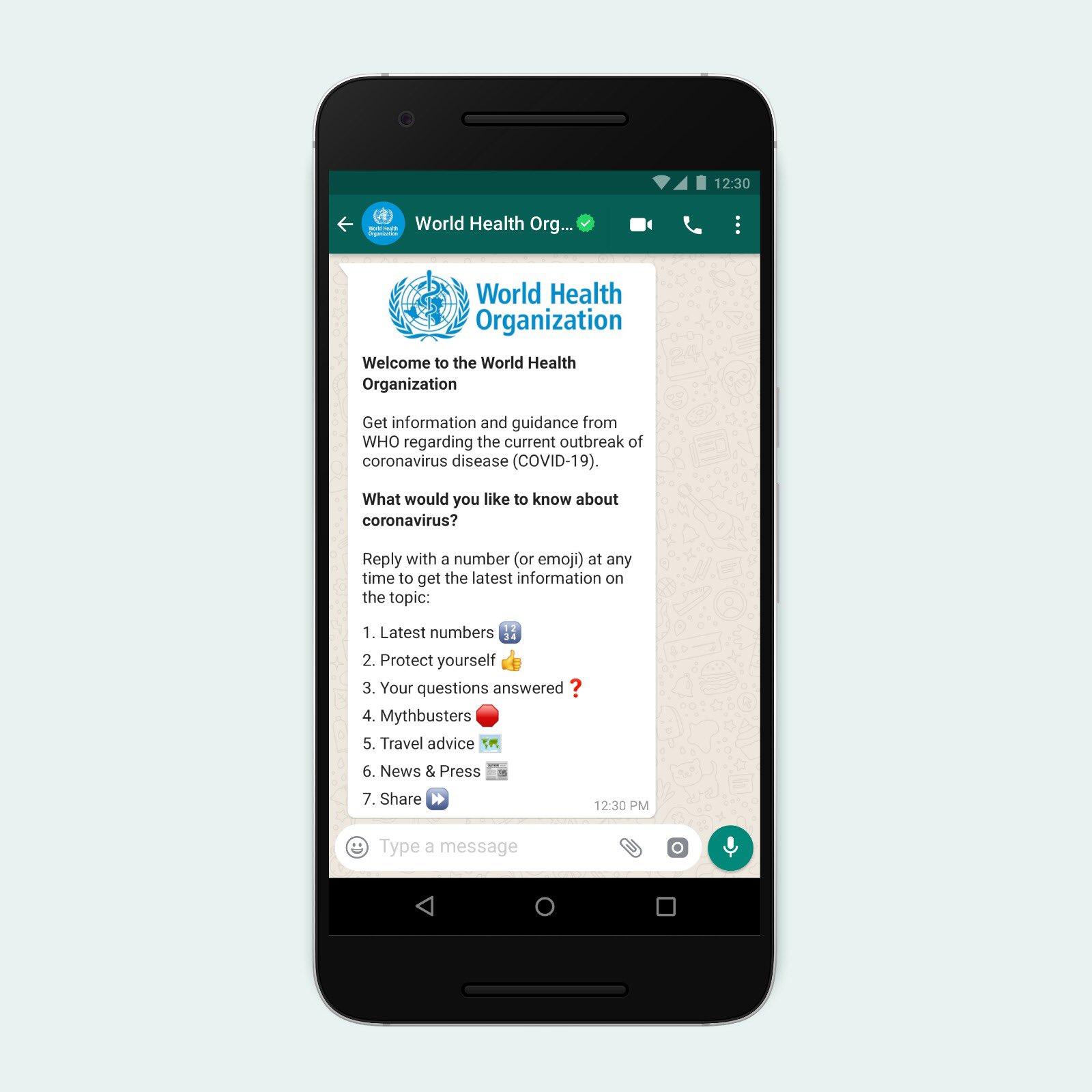 تطبيق واتساب يُضيف ميزتين لمكافحة المعلومات الخاطئة عن فيروس كورونا