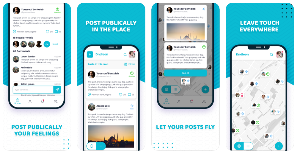 جديد التطبيقات: Dndleon شبكة اجتماعية على أندرويد و iOS - عالم التقنية