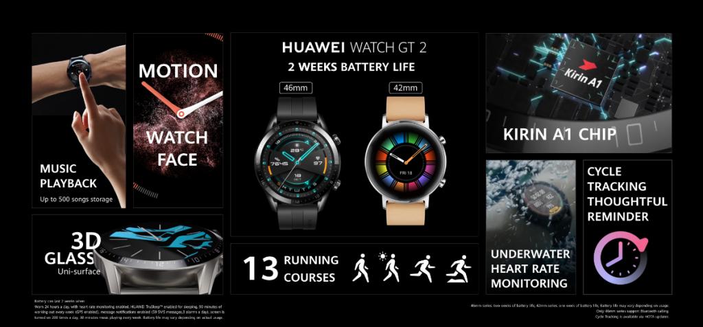 هواوي تعلن عن ساعة Watch GT 2e وألوان إضافية لنسخة Watch GT 2