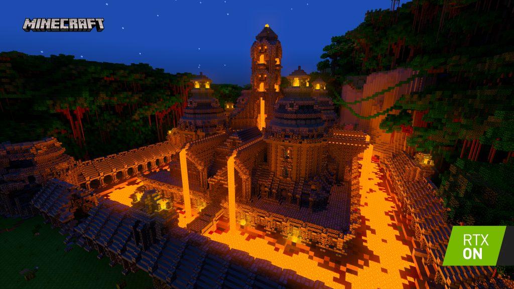 لعبة Minecraft RTX Beta مع تقنية تتبع الأشعة تصل أخيرًا مع تقنيات مذهلة لأول مرة