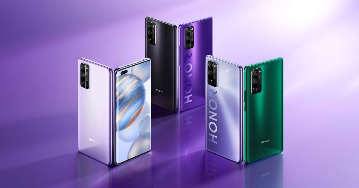 شركة هونر تكشف عن 3 نسخ جديدة من سلسلة هواتف هونر 30