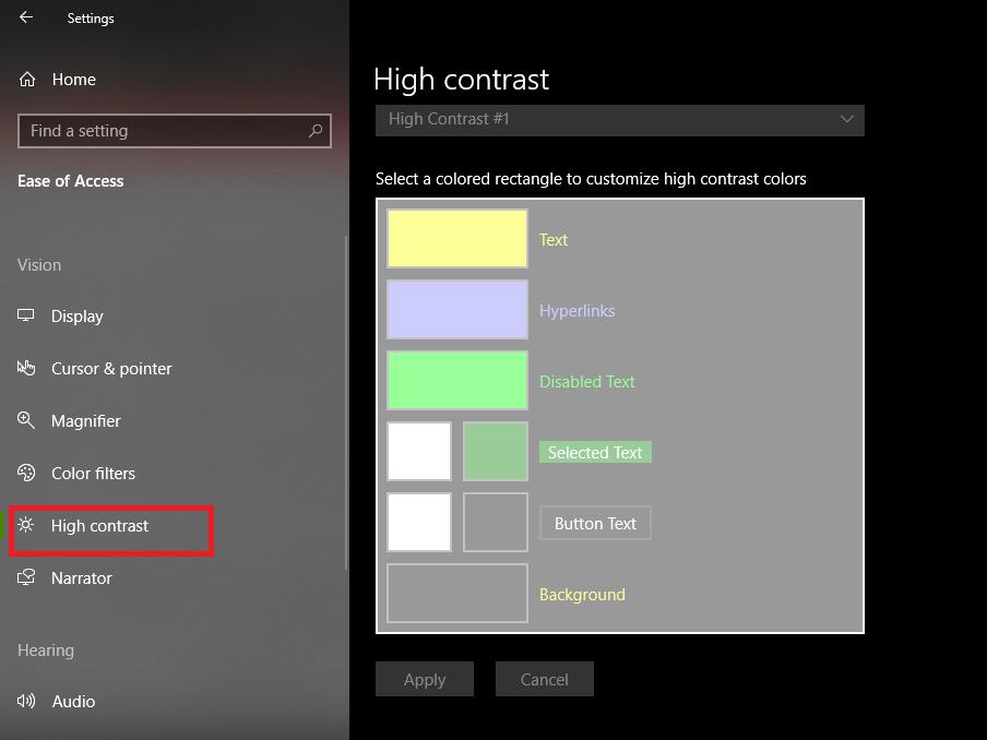 كيفية جعل استخدام ويندوز 10 أفضل للمصابين بعمى الألوان