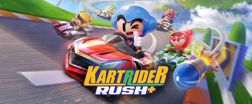 KartRider Rush + لعبة سباقات مجانية شبيهة بلعبة Mario Kart Tour