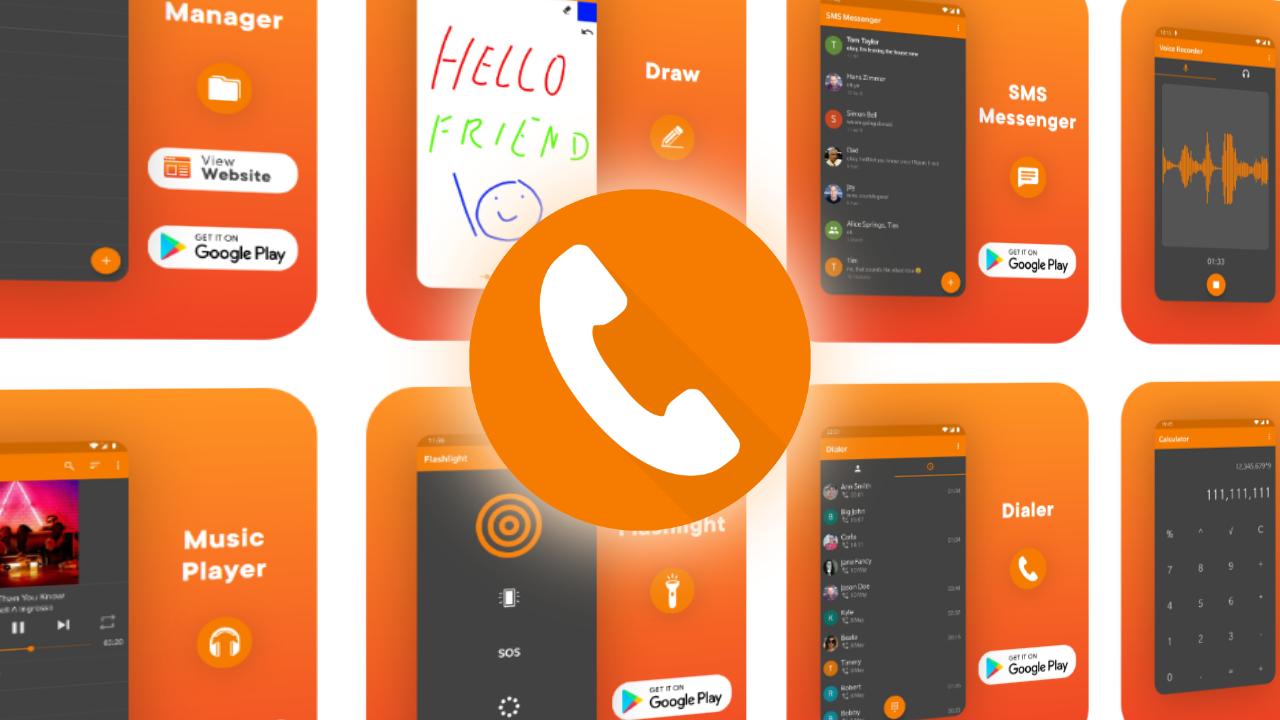 Simple Dialer هو تطبيق هاتف بسيط وعملي دون الكثير من التضحيات