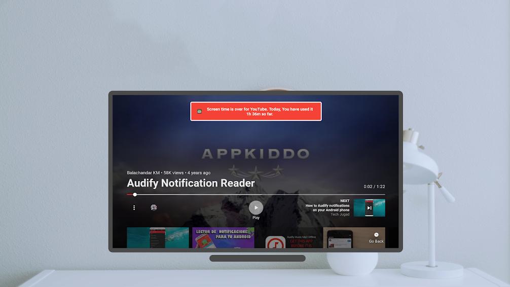 تطبيق TVUsage الجديد يأتي بأدوت الرفاهية الرقمية على أجهزة تلفاز أندرويد