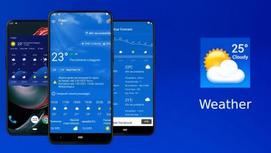 جديد تطبيقات الطقس Weather والذي ستحصل معه على تنبؤات دقيقة بالطقس