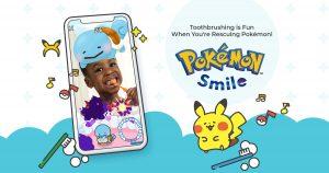 تطبيق بوكيمون سمايل لتحفيز الصغار والكبار على تنظيف أسنانهم من خلال اللعب