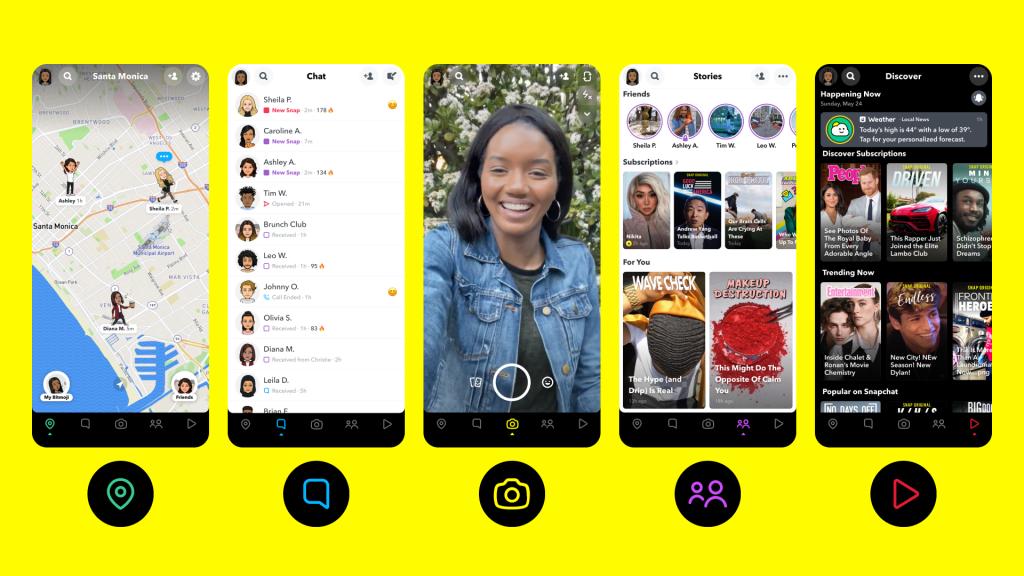 سناب تكشف عن تحديثات في التطبيق وتضيف العديد من المزايا الجديدة
