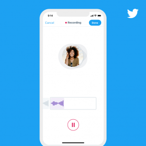 تويتر تختبر ميزة التغريدات الصوتية والبداية على نظام iOS