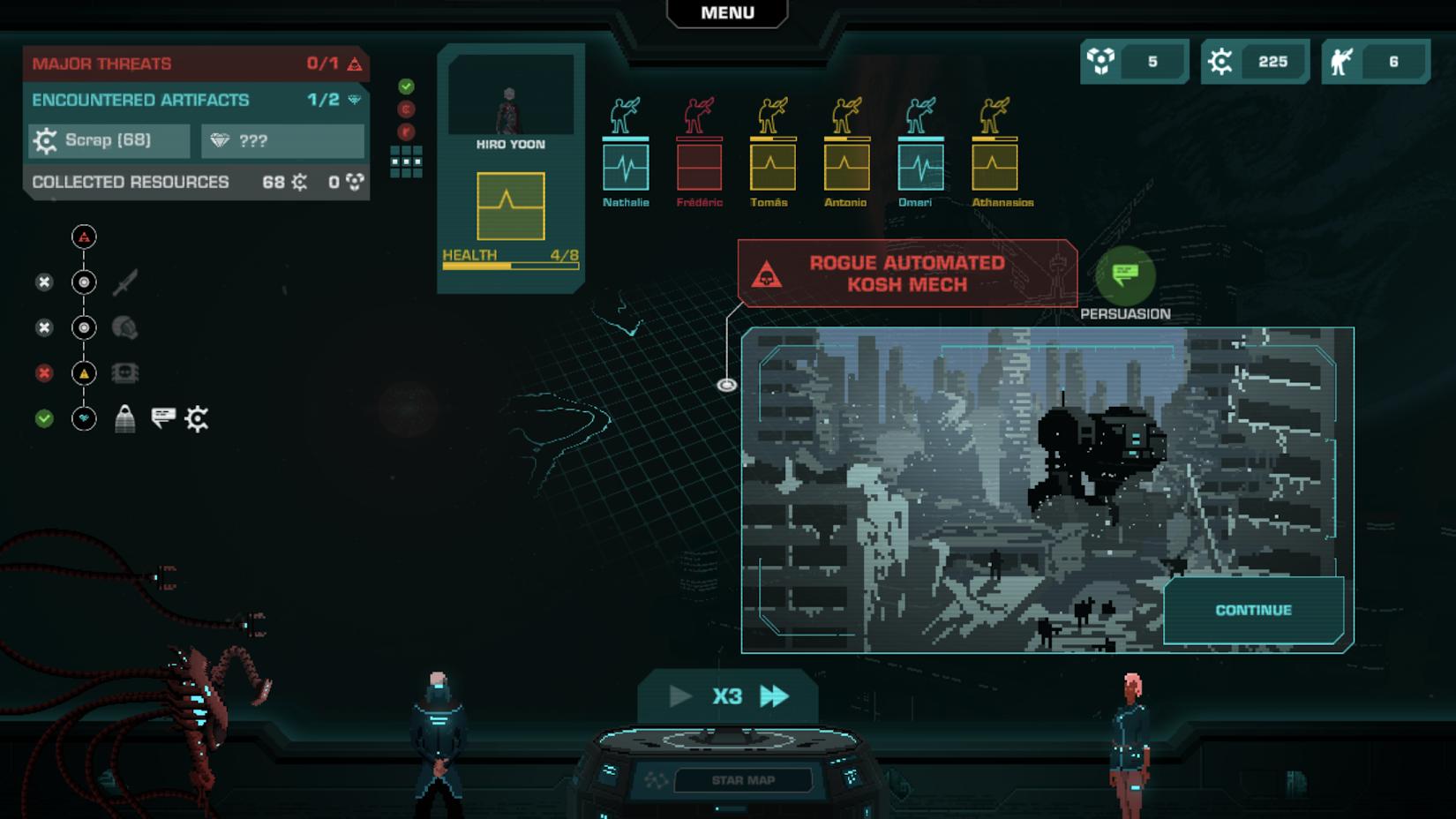 Crying Suns لعبة خيال علمي من Humble Bundle على أندرويد و iOS