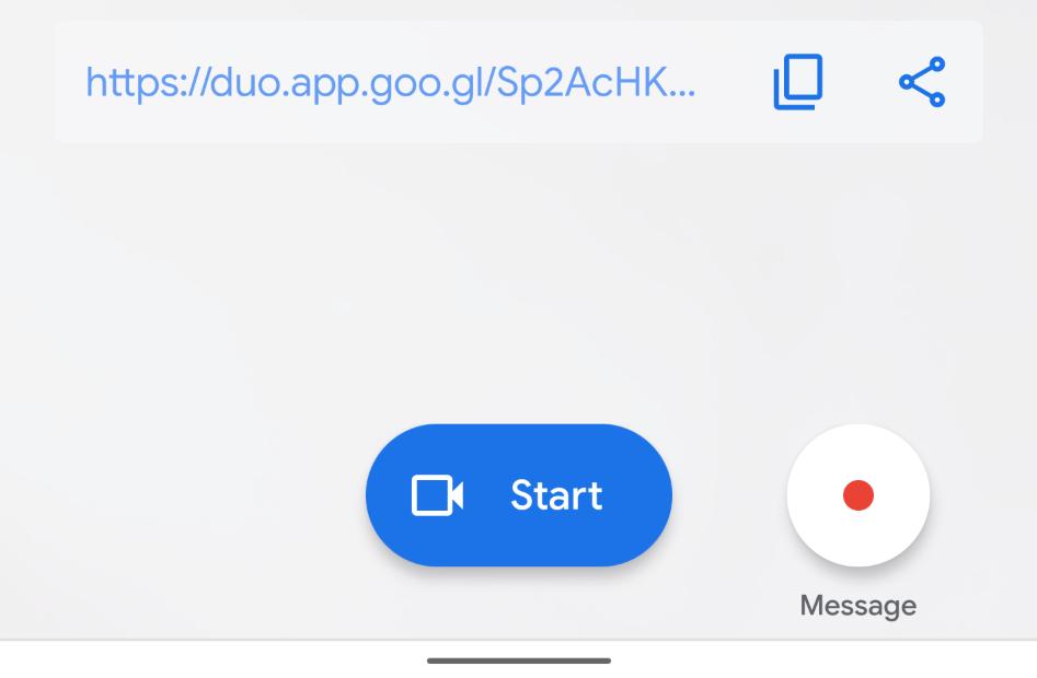 تطبيق Duo من جوجل يدعم الآن دعوة أي شخص لمكالمة جماعية وبرابط بسيط