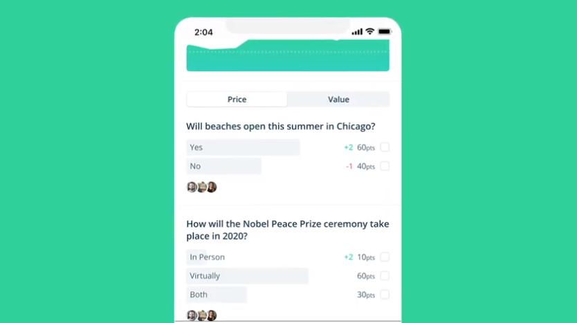 تطبيق Forecast من فيس بوك لإجراء تنبؤات المستقبل حول الأحداث العالمية