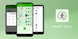 مع تطبيق Health Sync ستتمكّن من مزامنة جميع بيانات اللياقة البدنية من جميع المصادر