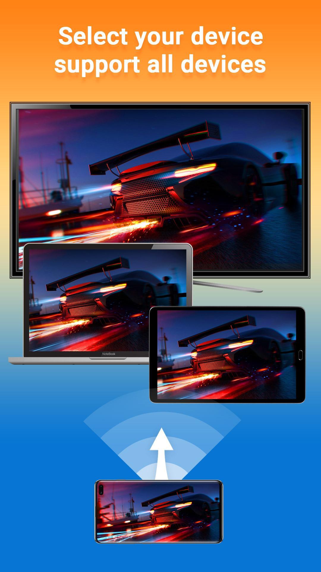 جديد التطبيقات: Screen Mirroring HD لعكس شاشة هاتفك على تلفازك الذكي