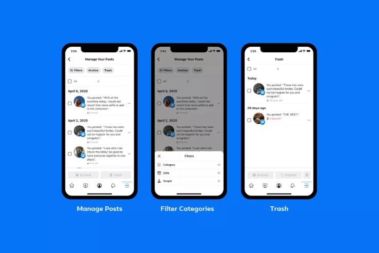 فيس بوك تسهّل حذف المنشورات القديمة على دفعة واحدة - عالم التقنية