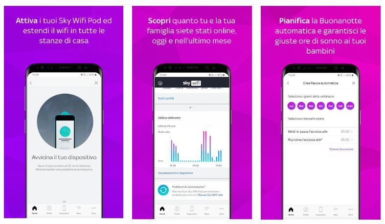 يُوفّر لك تطبيق الواي فاي Sky Wifi الجديد عاداترقمية متوازنة لجميع أفراد العائلة