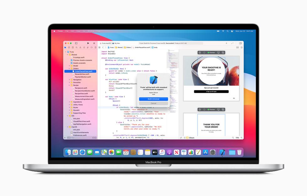 الانتقال من معالجات إنتل إلى معالجات Apple Silicon على أجهزة ماك