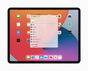 نظام تشغيل آيباد iPadOS 14