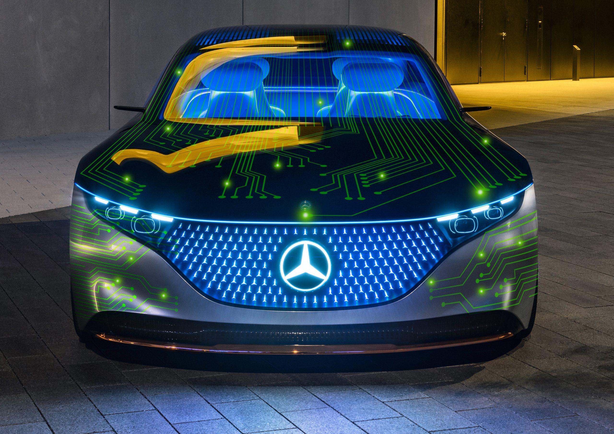 نفيديا و مرسيدس تبرمان شراكة لبناء الجيل القادم من أنظمة حوسبة السيارات