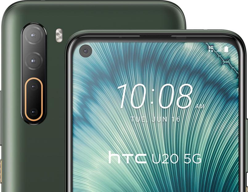 HTC تطلق أول هاتف من الفئة المتوسطة يدعم الجيل الخامس - U20 5G