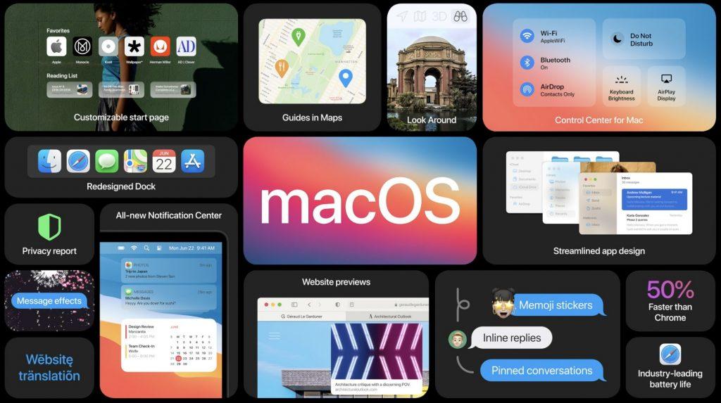 WWDC 2020: آبل تكشف عن macOS Big Sur الإصدار الأحدث من نظام تشغيل ماك