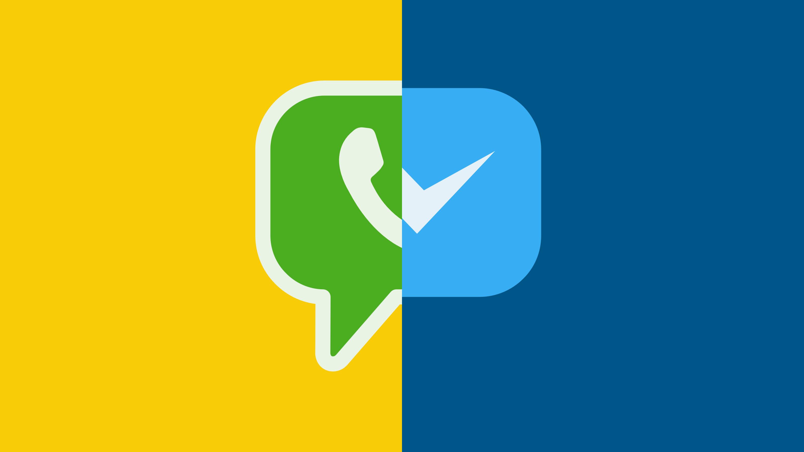 ظهور الدليل الأوّل لتكامل واتساب في فيس بوك ماسنجر