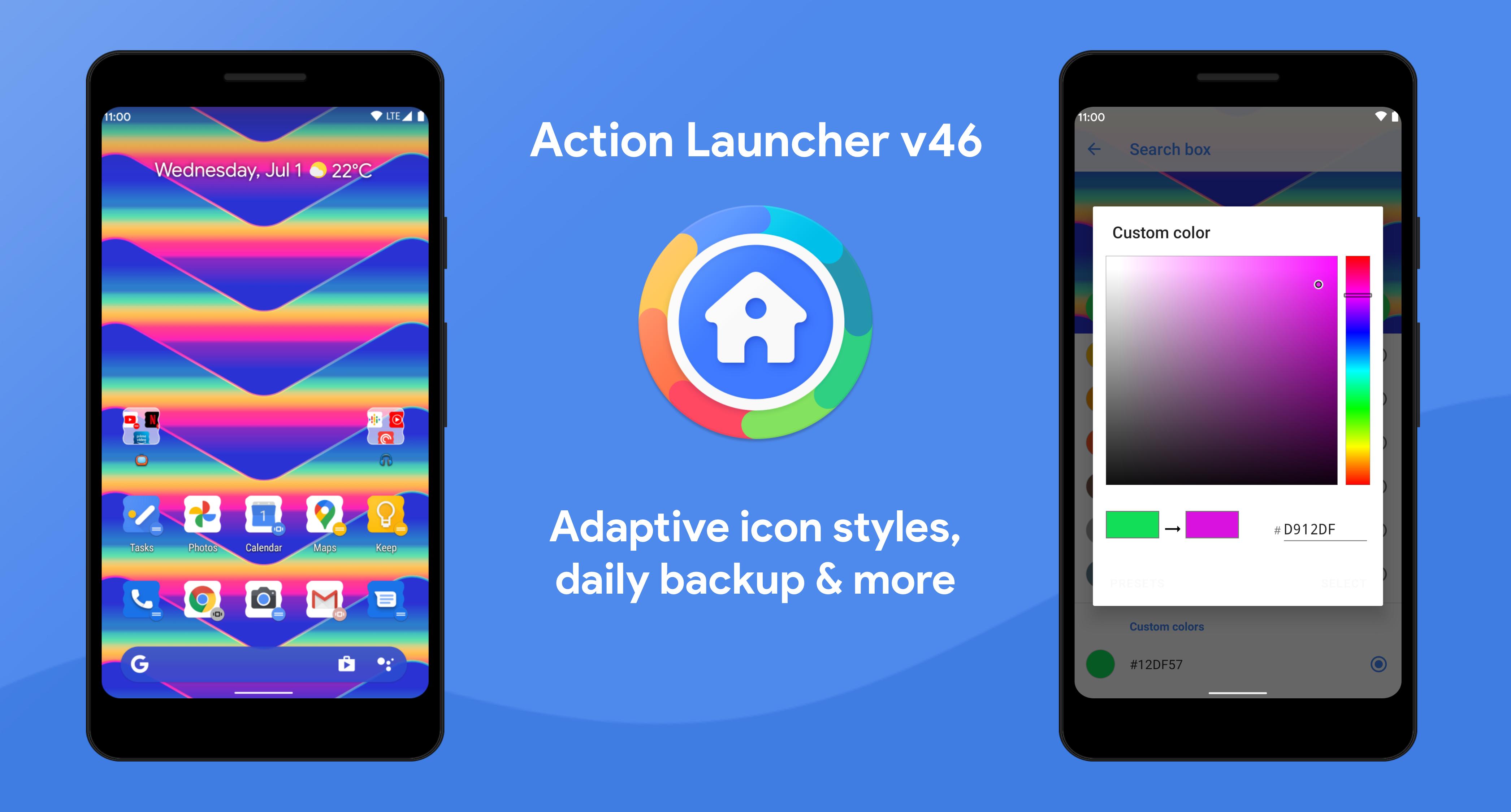 آكشن لانشر أندرويد يدعم الآن النسخ التلقائي للسحابة وأكثر - Action Launcher