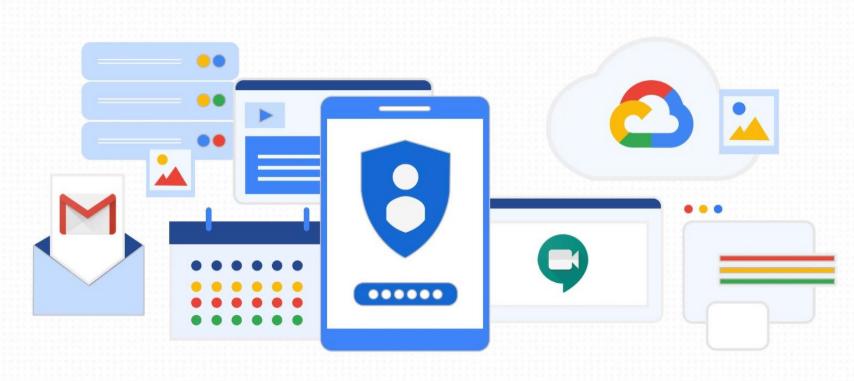 جوجل تقدّم أدوات أمان جديدة لخدماتها Chat و Google Meet و Gmail