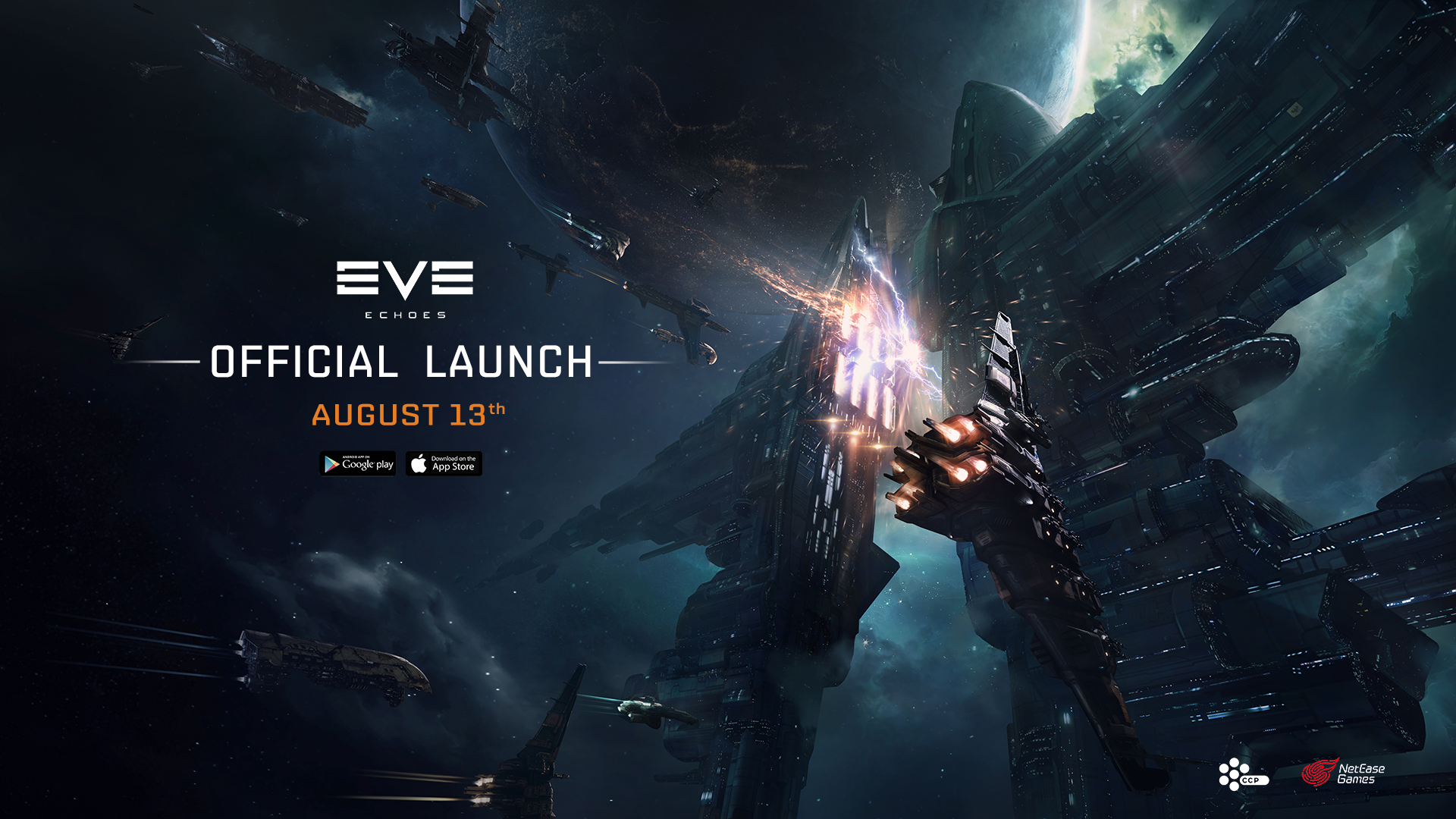 أخيرًا لعبة EVE Echoes قادمة على أندرويد الشهر القادم