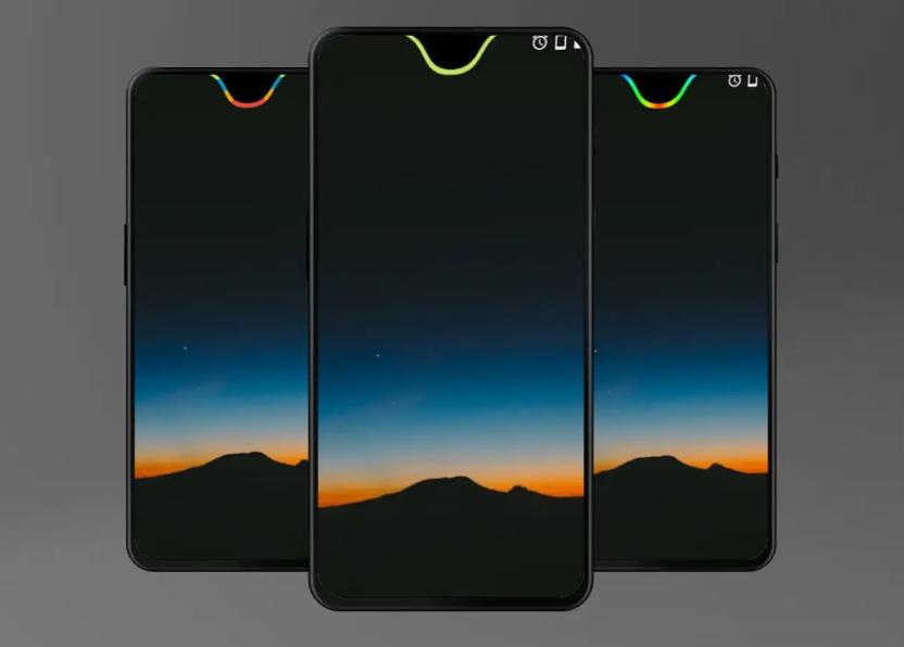 جديد التطبيقات: Energy Notch لإظهار مستوى البطارية مع حد شق الشاشة
