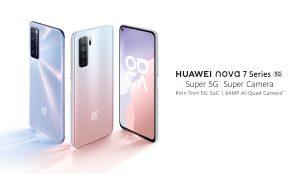هواوي تطلق هاتف nova 7 SE 5G في السعودية وتتيح الطلب المسبق على nova 7 5G