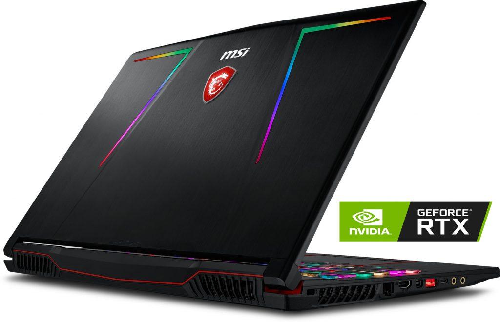 الحاسوب المحمول MSI GE75 Raider 10SFS يوفر قوة هائلة للاعبين والمبدعين مع معالجات تتبع الأشعة إنفيديا