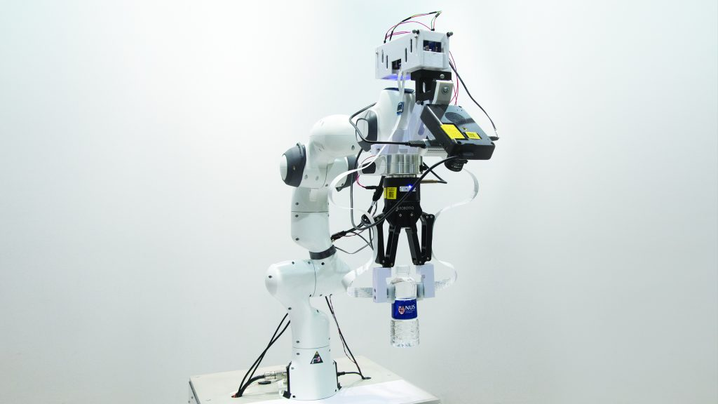 علماء من سنغافورة يعملون يبحثون توظيف تقنيات المعالجة الحاسوبية و الحوسبة العصبية من إنتل لبناء روبوتات قادرة على الإحساس