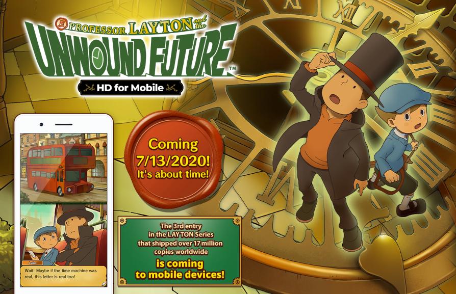 لعبة Professor Layton and the Unwound قادمة على أندرويد و iOS الاسبوع القادم