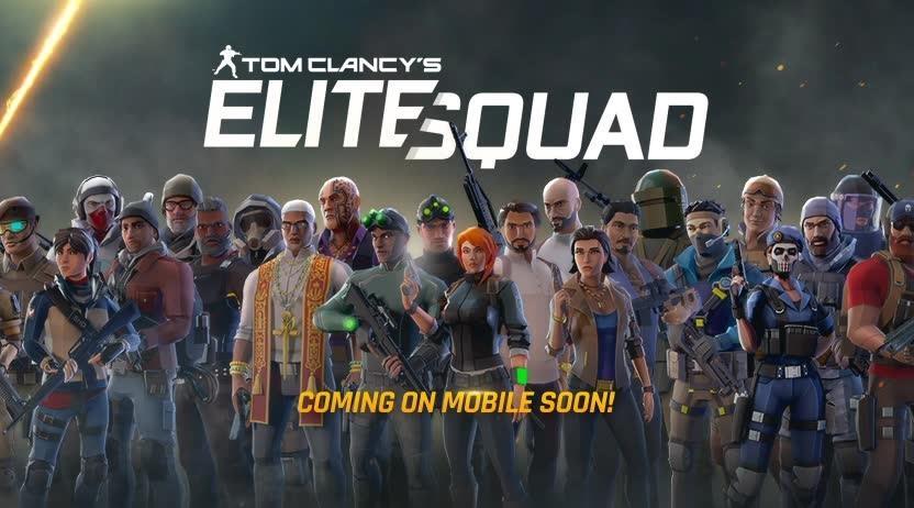أخيرًا لعبة المعارك  Tom Clancy 's  Elite Squadقادمة على أندرويد الشهر القادم