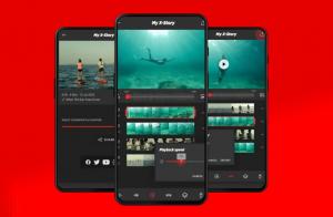 جديد التطبيقات: X-STORY محرر فيديو قوي على اندرويد