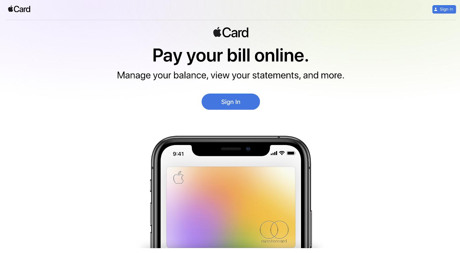آبل تطلق بوابة إلكترونية لمتابعة معاملات Apple Card على غرار تطبيق المحفظة