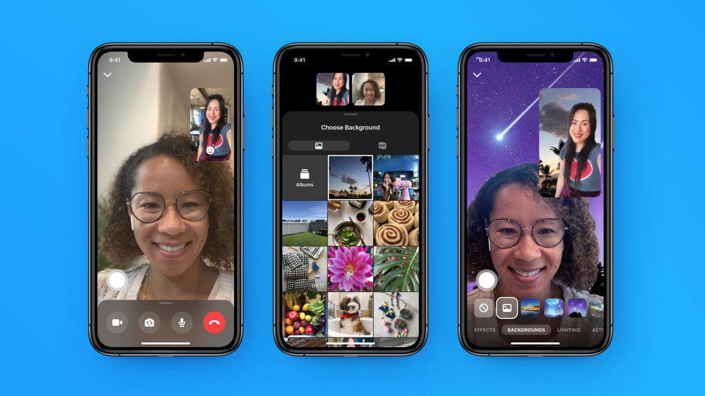 فيس بوك تُبسّط إدارة Messenger Rooms وتُدخل الخلفيات المخصصة