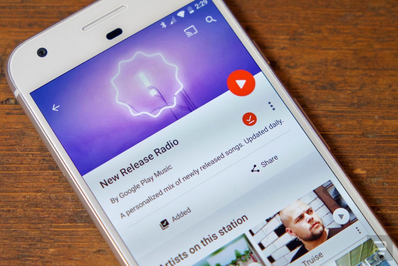 جوجل توقف تطبيق ميوزك بلاي نهائياً في أكتوبر المقبل