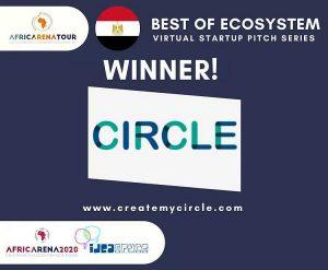 """تطبيق إدارة الممتلكات العقارية """"Circle"""" يفوز بمسابقة أفضل شركه ناشئه في مصر"""