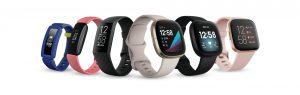 ساعة ذكية فيت بيت Fitbit Sense وFitbit Versa 3و Fitbit Inspire 2