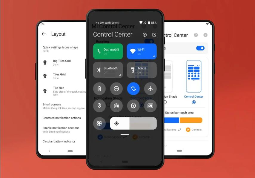 يقوم تطبيق Mi Control Center بتخصيص طريقة استخدامك لهاتفك الأندرويد