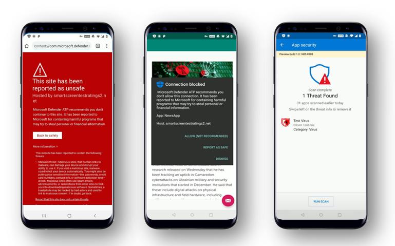 تطبيق مكافحة الفيروسات مايكروسوفت ديفيندر يصل متجر جوجل بلاي - Microsoft Defender