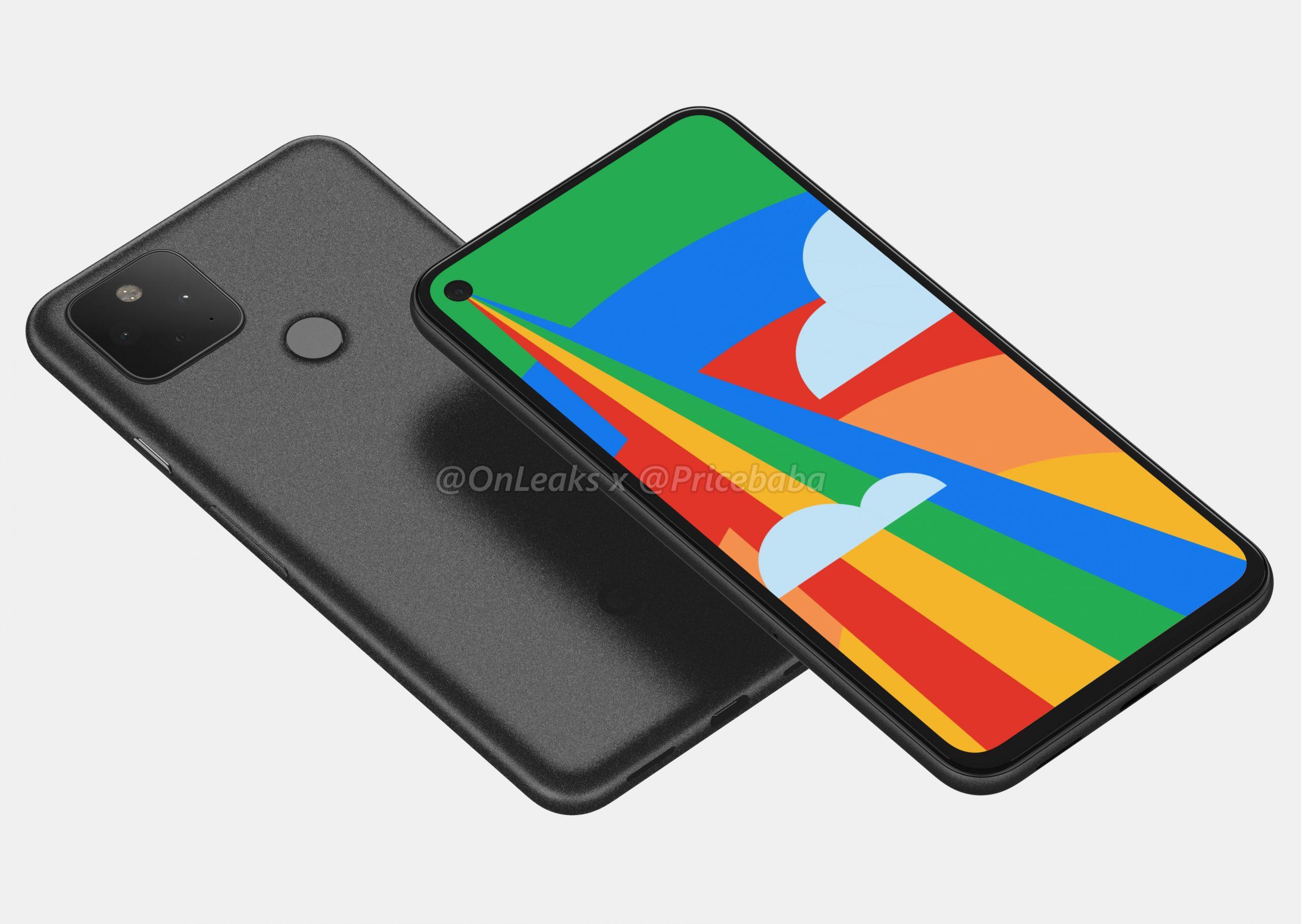 هاتف جوجل Pixel 5 يأتي بكاميرا خلفية مزدوجة (تسريبات)