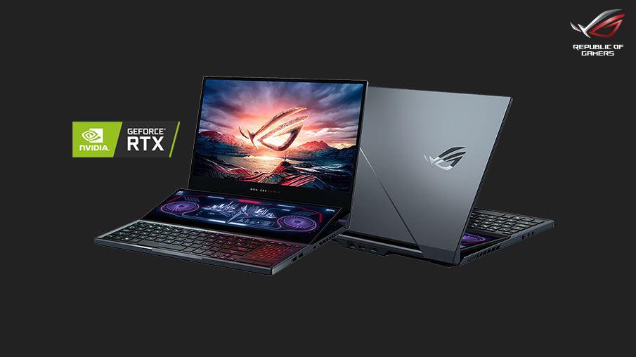 حاسوب أسوس المحمول ROG Zephyrus Duo 15 وحش الألعاب الأنيق