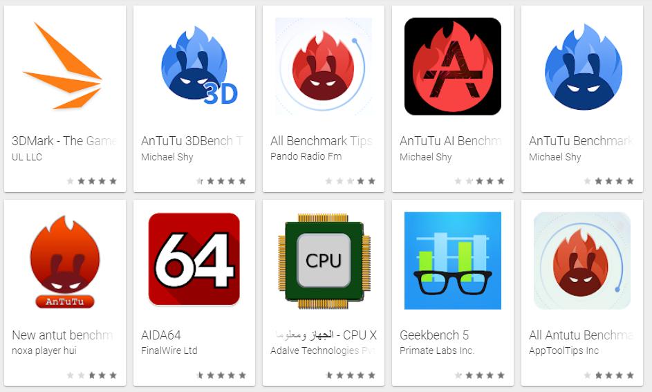 بعد حظر تطبيقات AnTuTu لا تزال هناك الكثير على شاكلتها في متجر جوجل بلاي